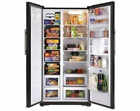 Beko GNEV221APB American Side by Side Fridge Freezer - in good condition, 2 years old, can deliver