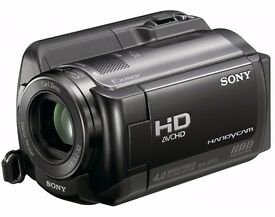 SONY HDR-XR105 80GB HD CAMCORDER