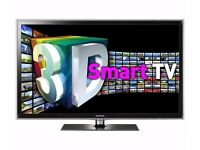 Samung 40 Inch 3D LED SMART INTERNET TV Full HD 1080p with Freeview HD & 2 x Samsung 3D Glasses