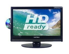 """MATSUI M22DVDB19 22"""" HD Ready LCD TV Built-in Combi DVD Player And Freeview HDMI"""