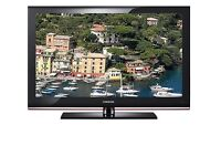 """Samsung 32"""" HD Ready LCD screen, 3 HDMI ports with Inbuilt Freeview"""