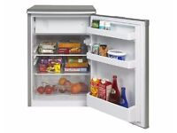 Beko silver under counter fridge freezer fully working RA110s