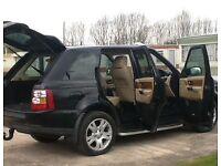 Range Rover sport HSE V6 2.7 Black