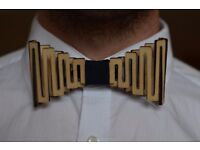 Wooden Bow Tie (NEW)
