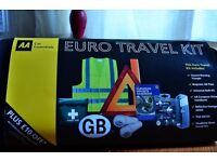 AA European Travel Kit with Breathalyser