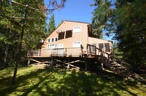 Road access cottage on Pelican Pouch North of Kenora LOW TAXES