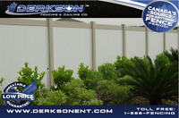 Derkson will not be beat on Hi Quality Fence Period!