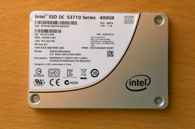 Intel SSD DC S3710 400GB, SSDSC2BA400G401, TOP Zustand + Garantie