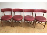 GPLAN G PLAN FRESCO VINTAGE TEAK CHAIRS