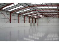 Warehouse/unit around 4000 sq ft required.