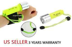 Underwater 1800LM CREE XM L T6 LED Diving Flashlight Torch- Lamp 60M Waterproof