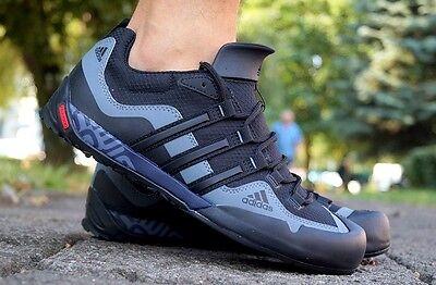 ADIDAS #28968 TERREX Fast R Wandern Trekking Outdoor Schuhe Herren Gr. 48 Lila