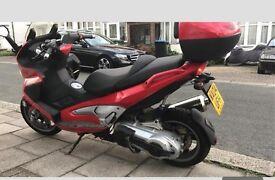 Gilera nexus 459cc not 300cc 125 250