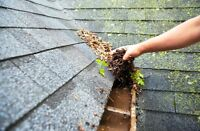 Gutter cleaning & fixing