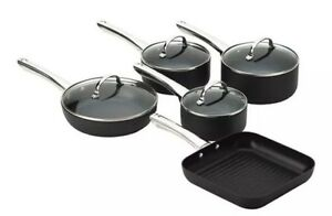 Stanley Rogers Techtonic Hard Anodised 5 Piece Cookware Set (BN) Coburg Moreland Area Preview
