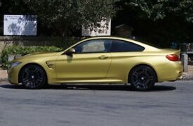 2015 BMW M4 3,0 2d automatic 1 owner