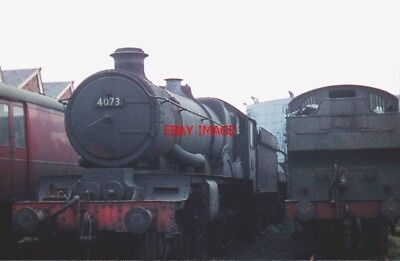 PHOTO  GWR CASTLE CLASS 4-6-0 4073 CAERPHILLY CASTLE WAS ANOTHER LOCOMOTIVE TO E