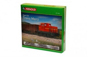 Arnold Hornby Starter Train Set Goods Train European N Gauge 1:160 Graham Farish