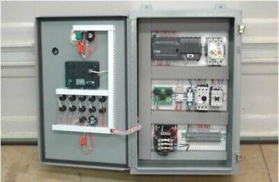Plc Control With Hmi. Pwm Servo Positioning And Daq