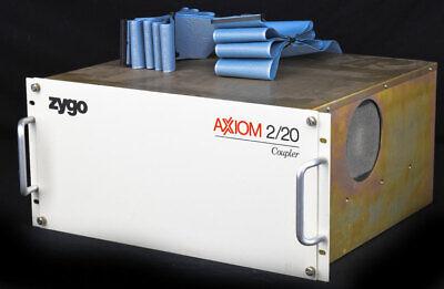 Zygo 7040 Axiom 220 Coupler 6191-0201-01 Rack Laser Head Controller Mainframe