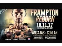 Frampton reborn ticket for sale