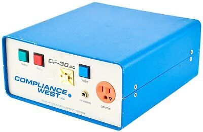 Compliance West Gf-30ac Industrial 30a Bench-type Ground Current Tester Parts