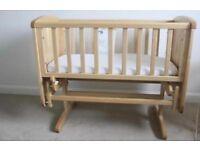 Mothercare Gliding Crib £60