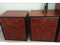 Pair of bedside unit cabinet