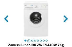 Zanussi · Front-loading · 7 kg capacity · High Efficiency · 60 cm wide