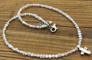 Rate Silpada Freshwater Pearl necklace with cross