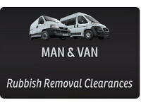 MAN & VAN - RUBBISH REMOVALS - Garden Shed / Garage / Cellar / Loft Clearances
