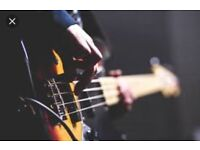 Bass player needed for new cover band