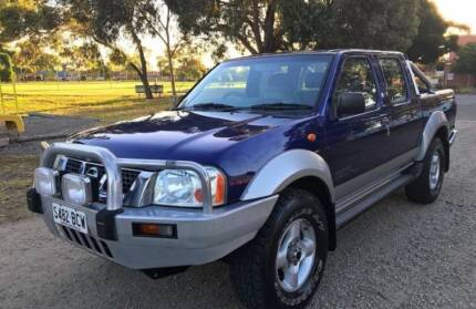 2002 Nissan Navara ST-R Turbo Diesel 4x4 5sp manual Mornington Mornington Peninsula Preview