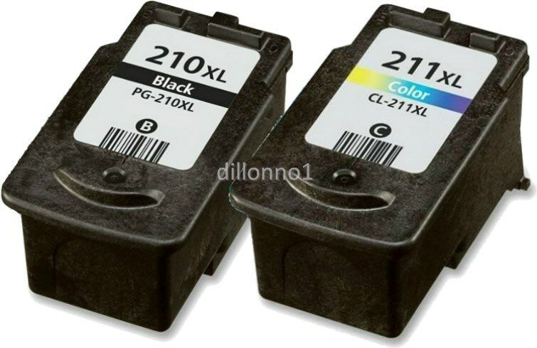 2PK PG 210XL CL 211XL Ink For Canon MP240 MP250 MX340