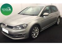 £217.28 PER MONTH SILVER 2013 VW GOLF 2.0 TDI GT 5 DOOR DIESEL MANUAL !WITH NAV!