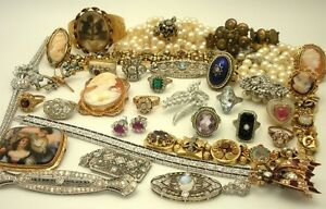 Buying GOLD & Vintage Jewellery: Gold & Silver, Costume Jewelry