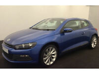 VOLKSWAGEN SCIROCCO 2.0 TDI 140/170 Coupe 1.4 2.0 TSI RLINE FROM £36 PER WEEK!