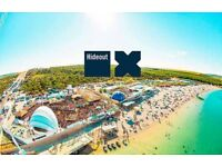 Hideout festival x2 standard tickets less than face value £270