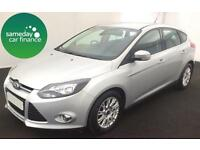£149.89 PER MONTH FORD FOCUS 1.6 TDCI TITANIUM 5 DOOR HATCH BACK DIESEL MANUAL