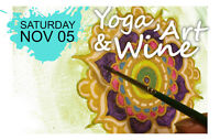 Yoga, Art & Wine!