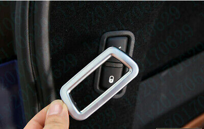ABS Chrome Rear Trunk Switch Button Cover For Maserati Levante 2017 2018 2019