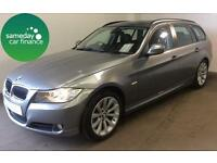 £218.77 PER MONTH GREY 2010 BMW 320 2.0 SE BUSINESS TOURING ESTATE DIESEL MANUAL