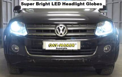 VW Amarok and Golf Philips LED Headlight Globes with DRL