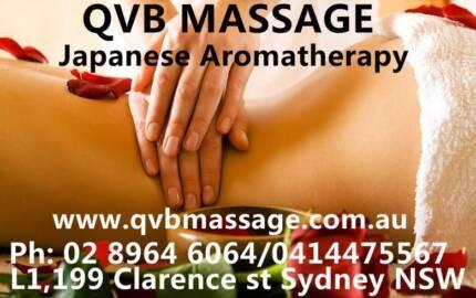 Japanese Aromatherapy (QVB Massage) Sydney City Inner Sydney Preview