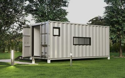 Studio 160 Sq Ft Luxury Shipping Container Home 20ft X 8ft 0 Down Financing