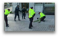 Victims of police intimidation in Ottawa, Oct. 22-23, 2014