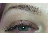 Eyelash extensions just £20