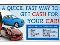 Cars wanted for scrap any condition free collection Aylesbury