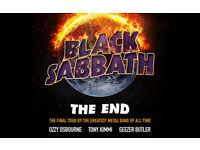 Black Sabbath Final Tour Glasgow SSE Hydro