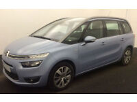 CITROEN C4 PICASSO EXCLUSIVE + DESIRE PLATINUM BLUEHDI VTR+ FROM £67 PER WEEK!
